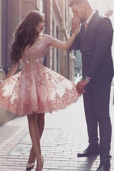 Homecoming Dresses, Homecoming Dresses 2018, Beading Homecoming Dresses, Tulle Homecoming Dresses, Square Neck Homecoming Dresses, Short Prom Dresses, Short Party Dresses, Prom Dresses, Cocktail Dresses