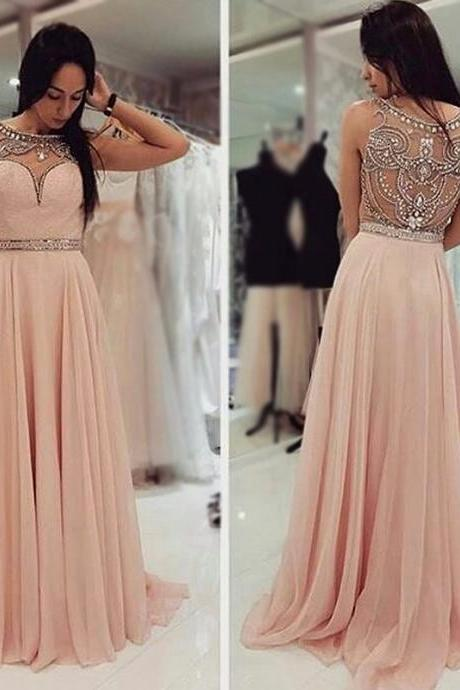 Prom Dresses, Sweetheart Prom Dresses, Beading Prom Dresses, A-line Prom Dresses, Chiffon Prom Dresses, Elegant Party Dresses, Long Evening Dresses,Party Dresses